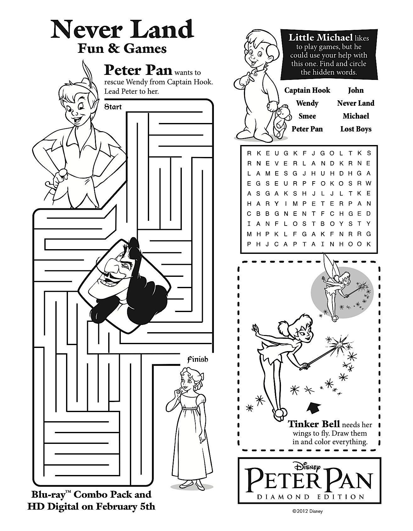 Peter panus unever grow upu printable games celebrating the peter