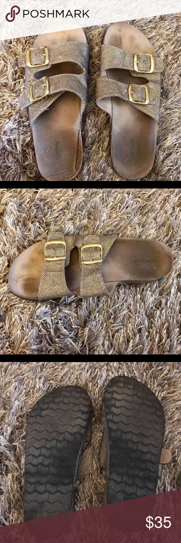 SONOMA slip ons! Size 8.5! Bought for 60$ last summer Shoes Sandals