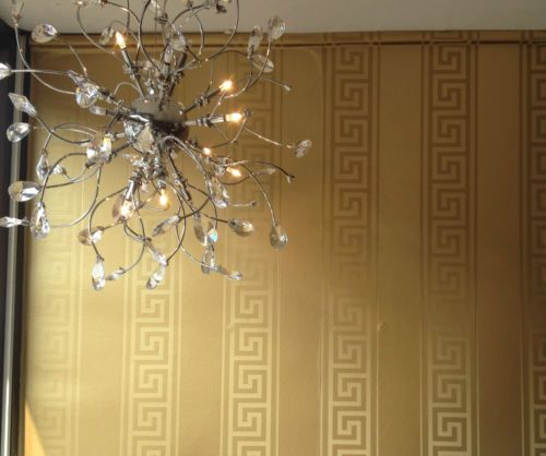 Versace Gold Greek Wallpaper eBay Versace wallpaper