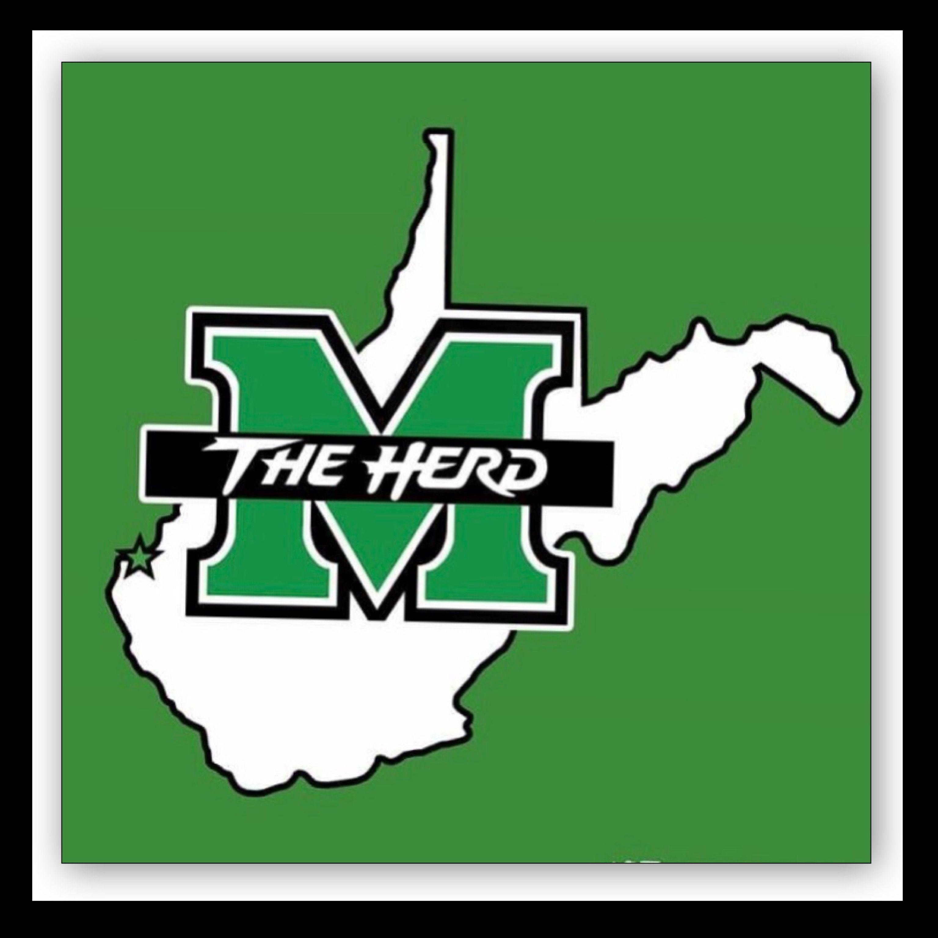 Marshall University Marshall University University Logo Marshall Thundering Herd Football