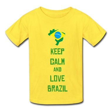 2014 Fifa Brazil Map And Flag Yellow 7600b T-shirt For Kid Store-Cities & Countries T-shirts with your own favorite texts or photos in our designer.   http://hicustom.net/  free shipping and 24hours available to help.