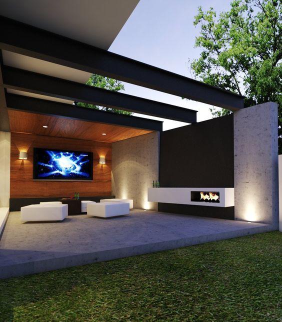 Casa campo lago por creato arquitectos terrazas for Terrazas de campo
