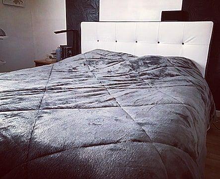 couvre lit tout doux papadeuxpoint0 a opté pour ce superbe couvre lit BABOU à tout  couvre lit tout doux