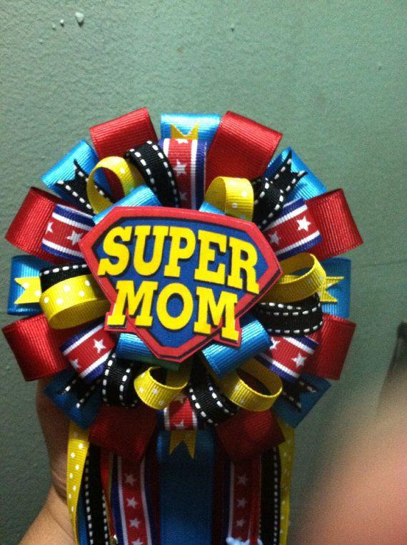matching superdad pin last one superhero baby shower and superhero