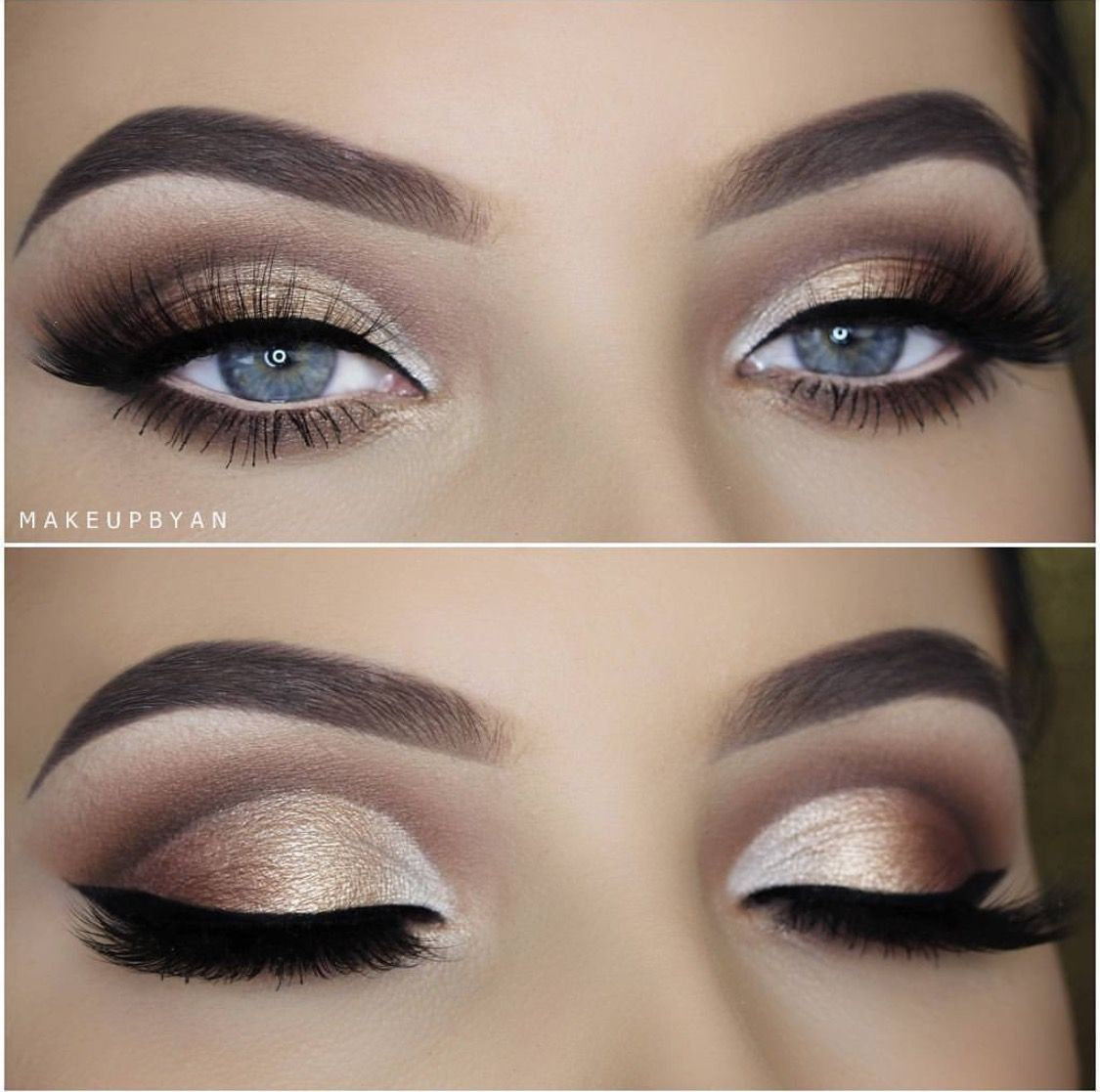 Pin By Fatima On Bridal Makeup Blue Eye Makeup Prom Makeup For Brown Eyes Wedding Makeup For Blue Eyes