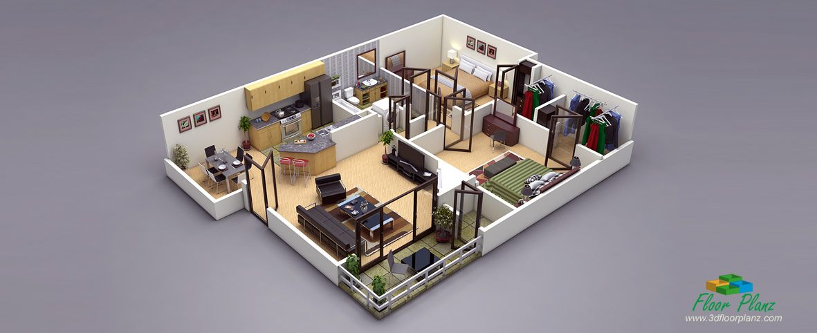 Design Photo Realistic 3D Floor Plans For Your Property And Increase Sale.  Convert Your