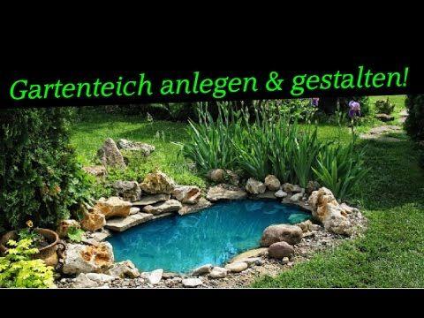 Gartenideen gartenteich anlegen gestalten tei for Gartenteich anlegen fertigteich