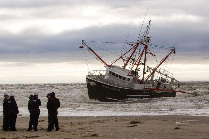 Coast Guard Vessel Capsizes During Fishing Boat Rescue ...