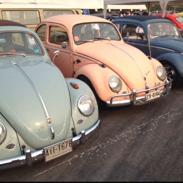 B Ec Ff A Dc Ef Ca F on pink volkswagen beetle bug car