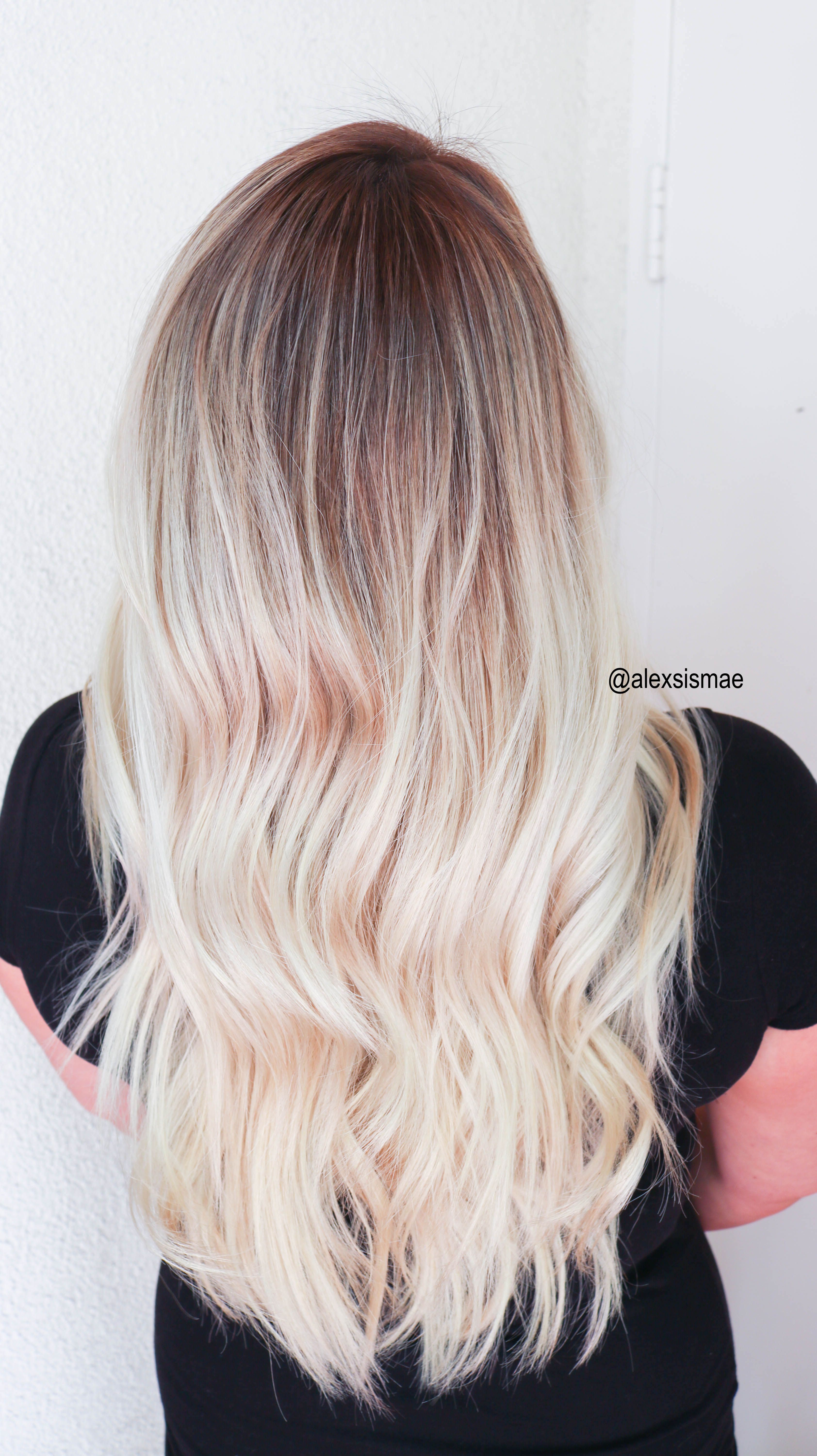 SUNKISSED HAIR | SMUDGE ROOTS AND SOMBRE BALAYAGE HIGHLIGHTS ...