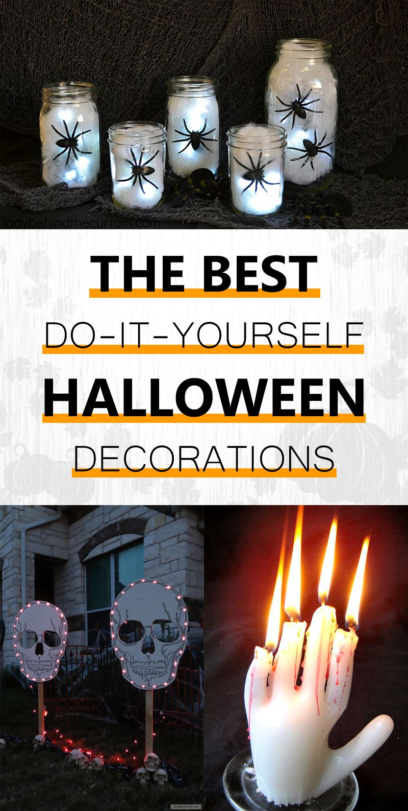The best do it yourself halloween decorations solutioingenieria Images