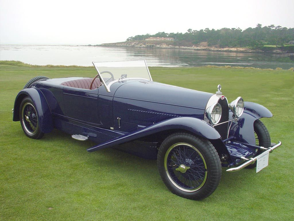 1928 Bugatti Type 38A Of all the Type 38s made, one of the mot ...