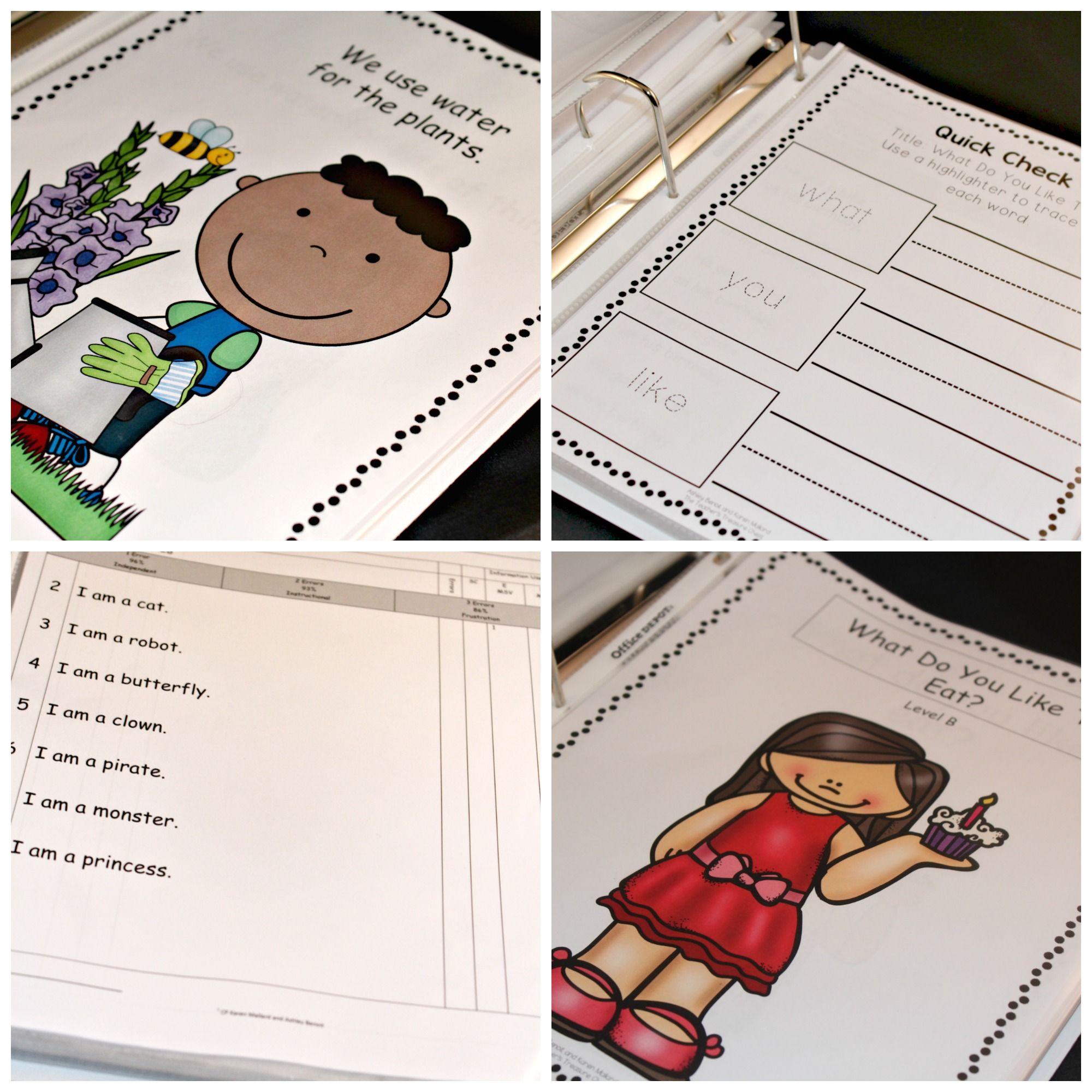 Comprehension Intervention Binder Kindergarten