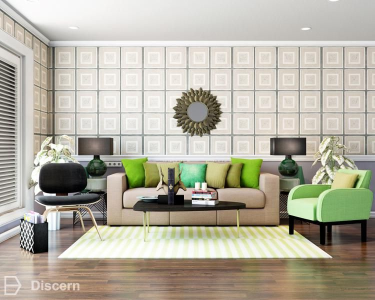 this room render has a lot of spunk with a refreshing pop of green rh pinterest com