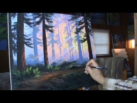 The Forest in Winter at Sunset painting  Wikipedia