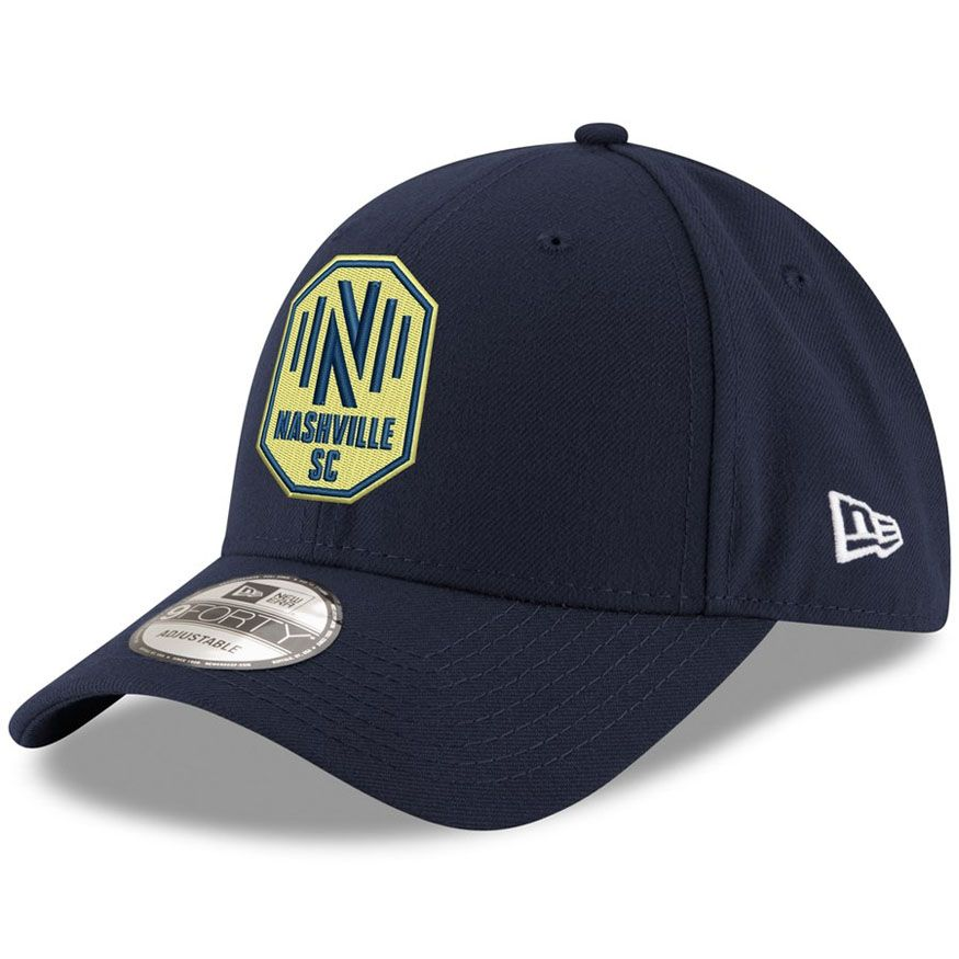 New Era Nashville Soccer Club 940 Adjustable Hat (Navy