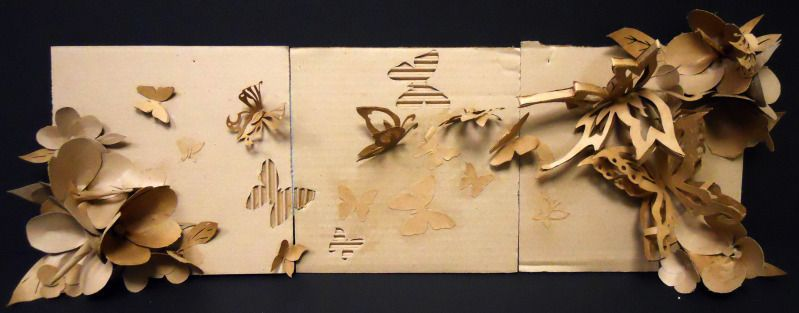 Cardboard+Butterfly++•++Make+a+model+or+sculpture+in+under+180+minutes