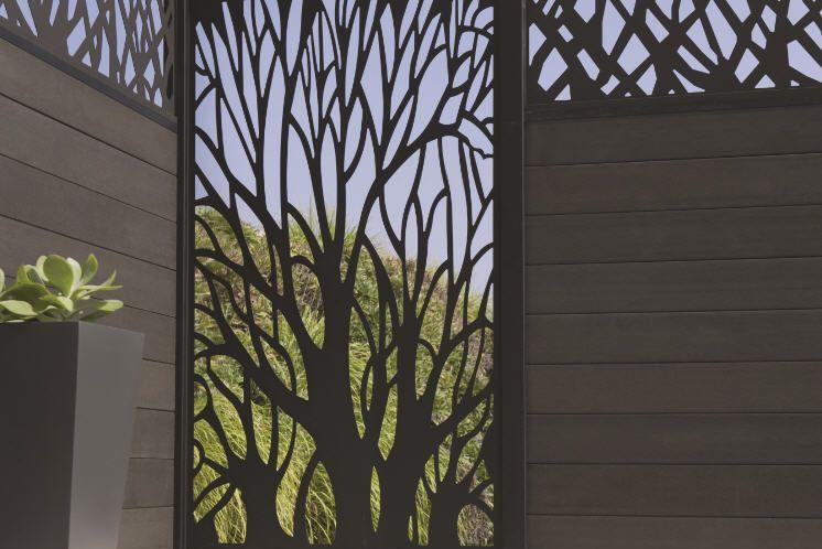 Panneau Occultant Blooma Idaho Chez Castorama Tuinmuur Buitentuinen Hekwerk
