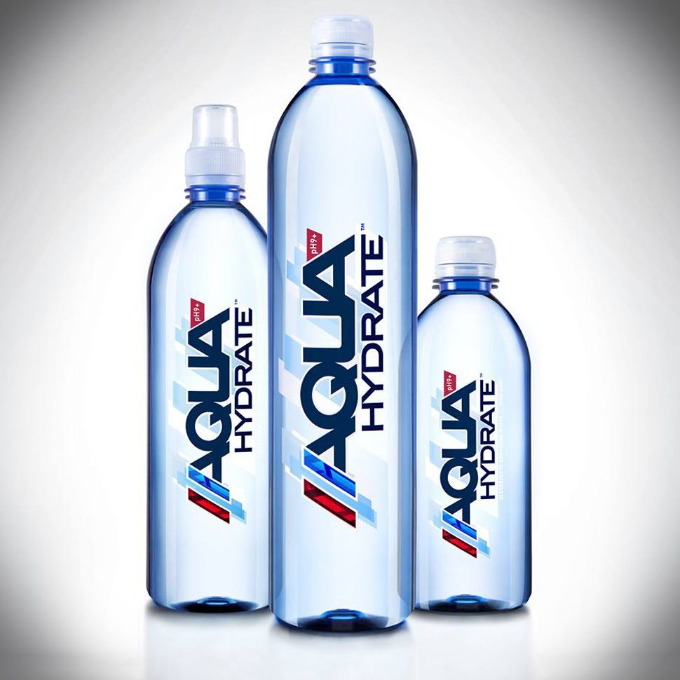Aquahydrate Makes Multi Channel Distribution Gains Water Bottle