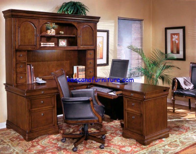 Meja Kerja Kantor Minimalis Desain Furnitur Desain Kantor Rumah Ide Dekorasi Rumah
