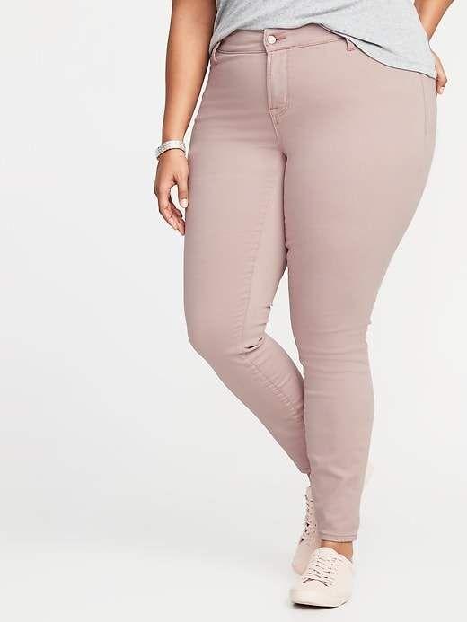 d470668fd47 Old Navy High-Rise Secret-Slim Pockets + Waistband Built-In Warm Rockstar  Plus-Size Jeans