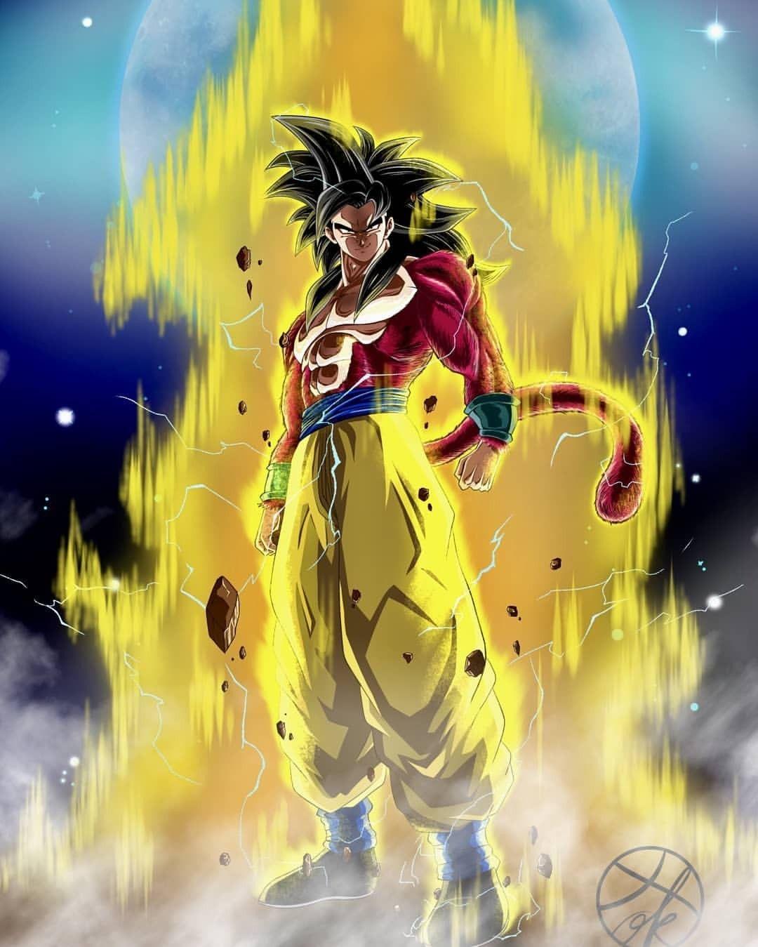 Ssj4 Goku Anime Dragon Ball Super Dragon Ball Goku Dragon Ball Gt