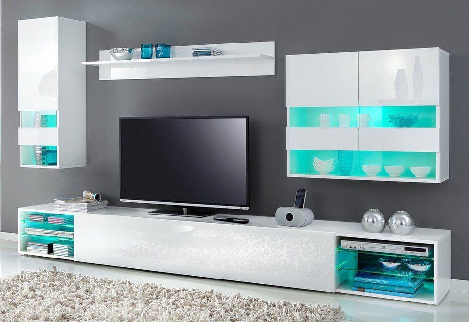 Tecnos Wohnwand 6 Tlg Fur 299 99 3 Lowboards 2 Hangeschranke 1 Wandregal Italian Design In Verschiedenen Farben Bei Wohnwand Wohnen Wohnzimmerschranke