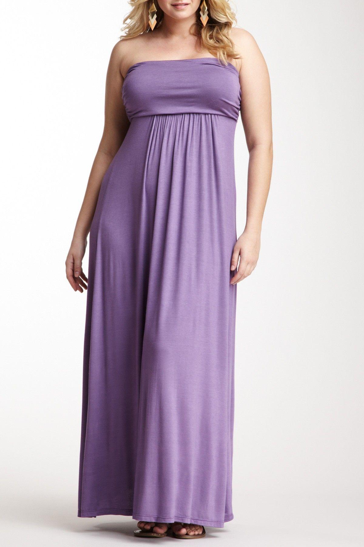 Pretty lavender plus size maxi plus size fashion pinterest