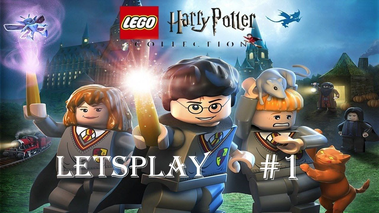Lego Harry Potter Collection Letsplay Ps4 Year One Part 1 Lego Harry Potter Harry Potter Years Harry Potter Collection