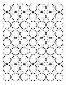 1 Inch Matte White Circle Labels With Permanent Adhesive 10 Sheets 630 Labels Perfect For Price Tags Pro Circle Labels Bottle Cap Crafts Bottle Cap Images