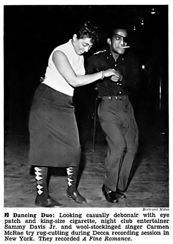 Image result for carmen mcrae and sammy