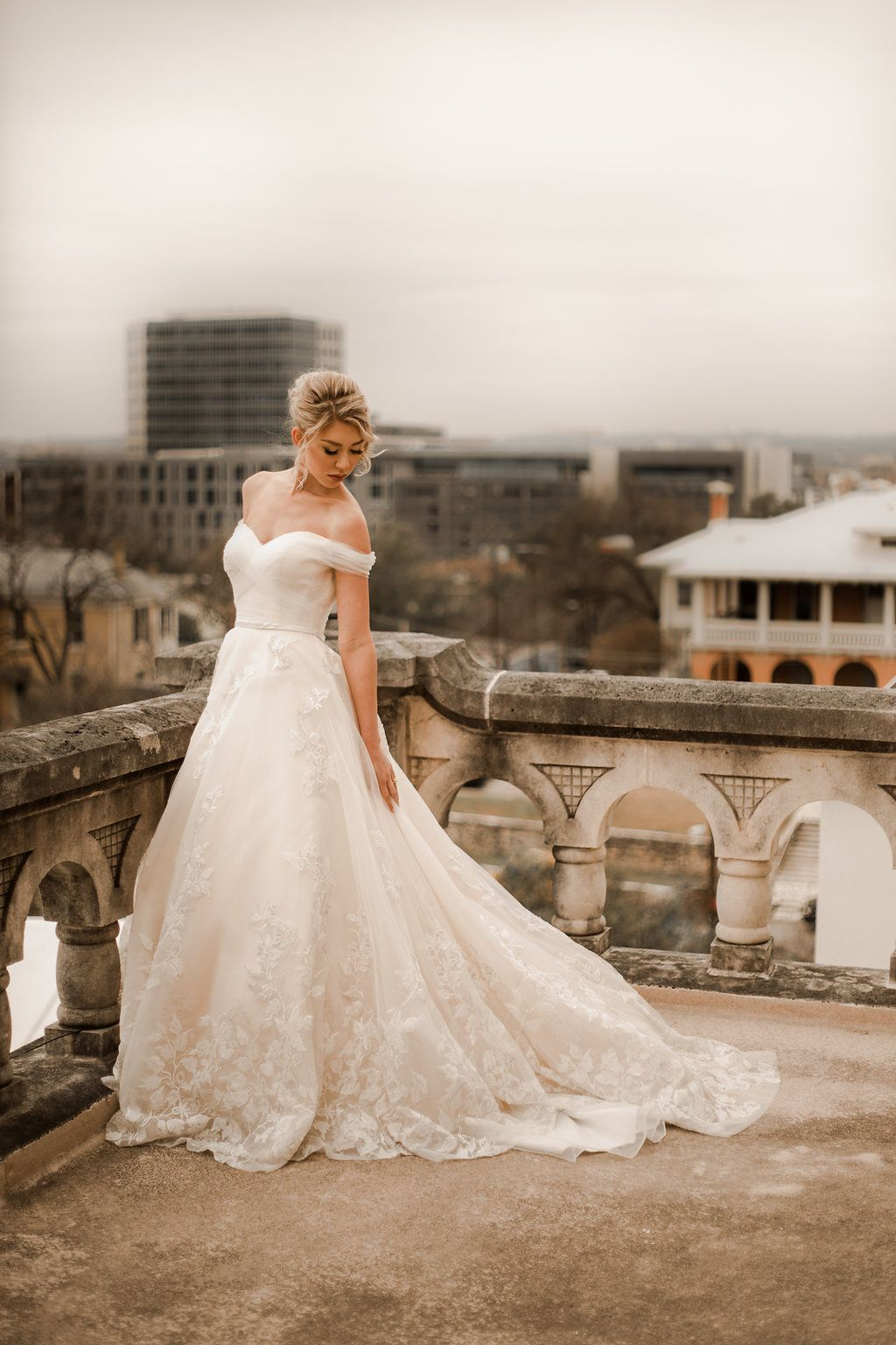 Custom Floral Gold And Champage Weddings Dress Rose Wedding Dress