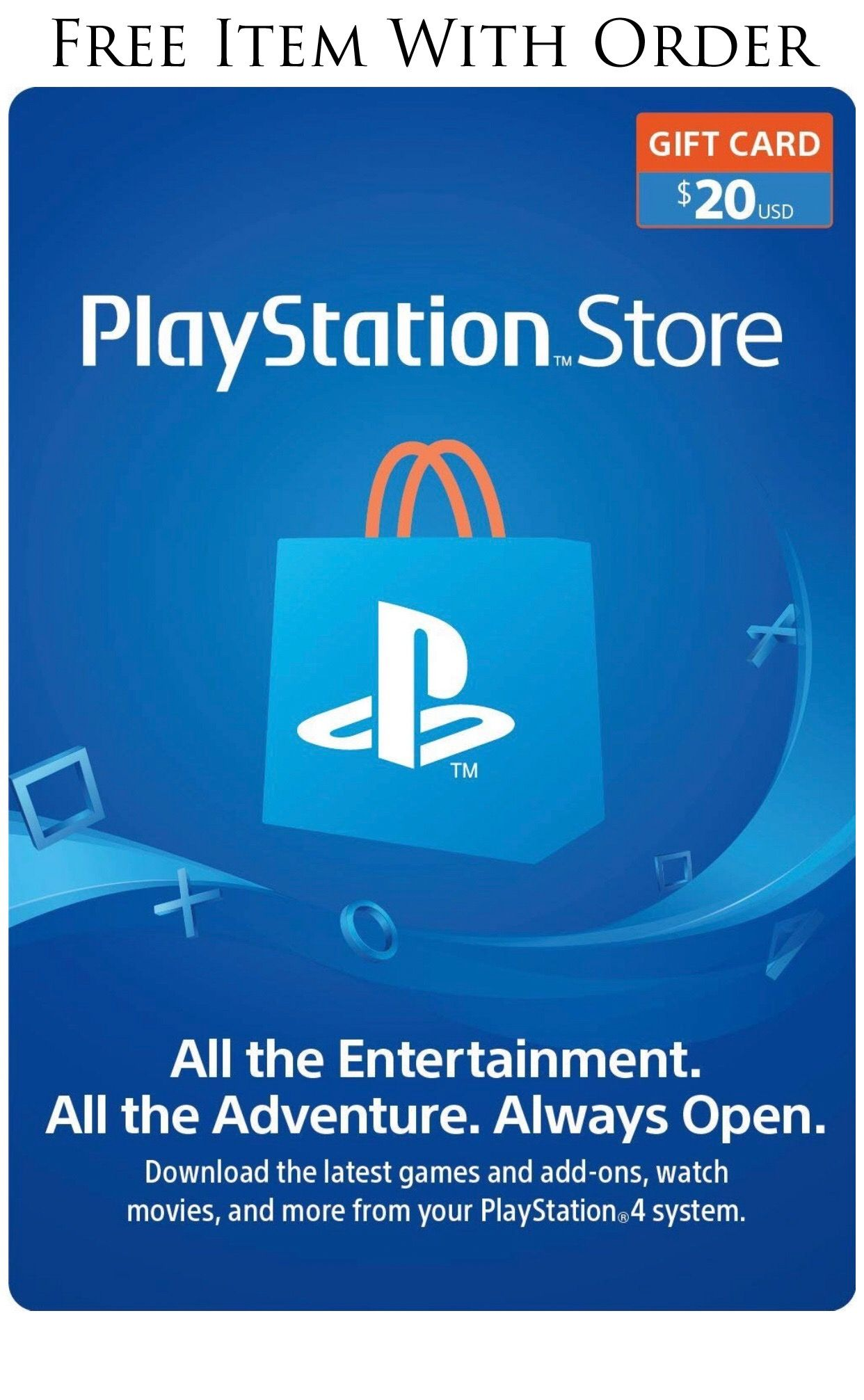 Enjoy playstation content with convenient playstation