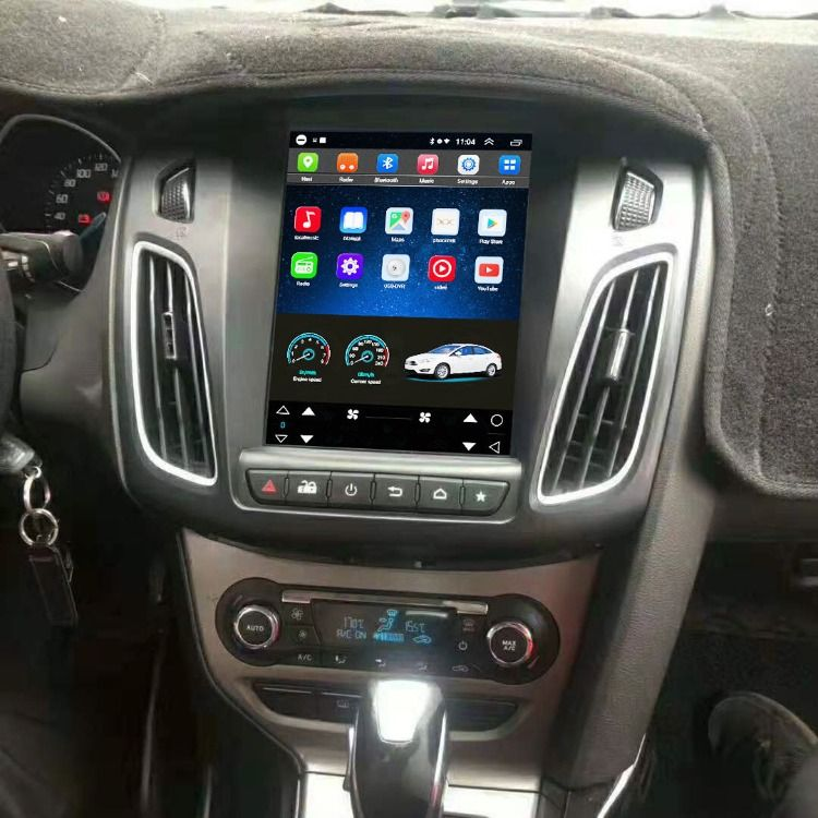 Vertical Screen 10 4 Inch Head Unit For Ford Focus 2012 2016 Ford Focus Accessories Ford Focus Focus 2012