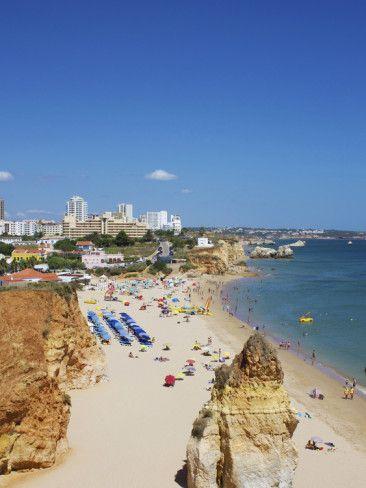 Praia Do Vau Portimao Algarve Portugal Portimao Locais E Praia
