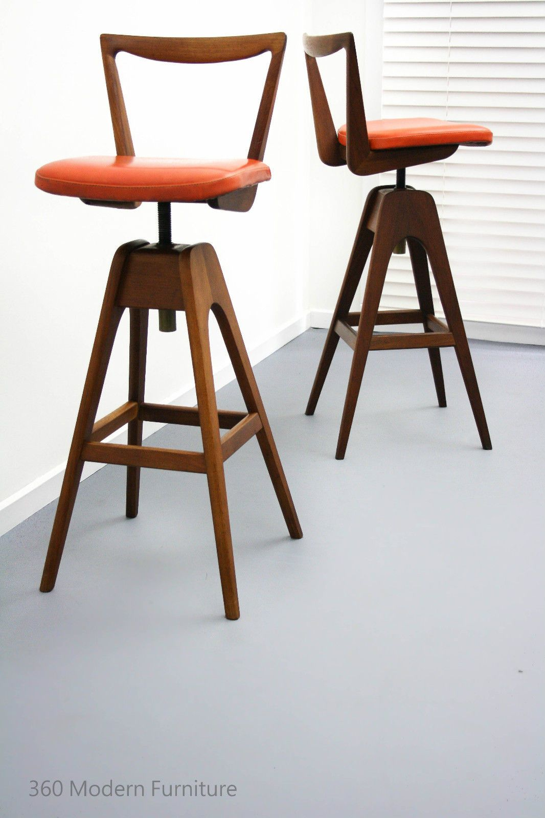 Seating Vintage Th Brown Bar Stools Brown Bar Stools Bar Stool Furniture Home Bar Accessories