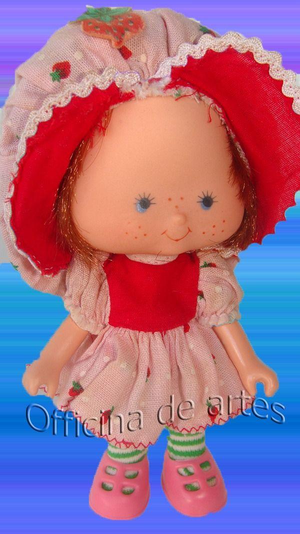 Boneca Antiga Moranguinho (morango) Original Estrela 1986 - R$ 150,00 no MercadoLivre