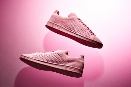 Adidas Stan Smith Primeknit Goes In the Pink