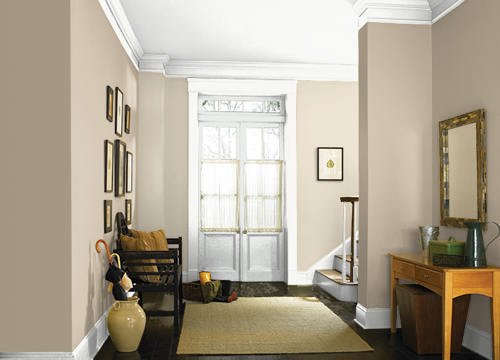 This Is The Project I Created On Behr Com I Used These Colors Raffia Cream 710c 2 Gobi Desert 710 Living Room Colors Living Room Grey Farm House Living Room