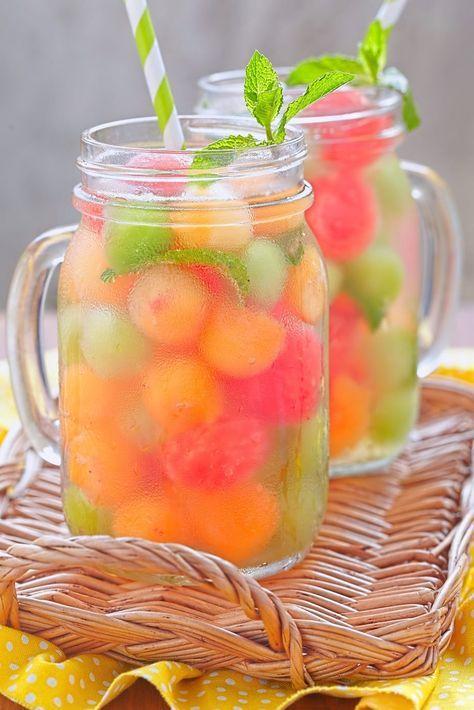 Leckere Rezepte für fruchtiges Flavoured Water #boissonsfraîches