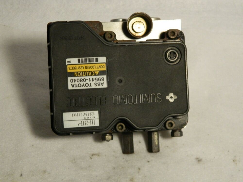 2002 2003 Toyota Sienna Anti Lock Brake Module Pump Assembly 89541 08040 Toyota Sienna Toyota Sienna