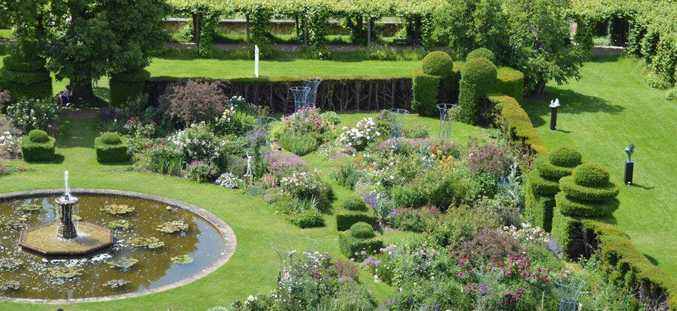 The West Garden - Hatfield House: