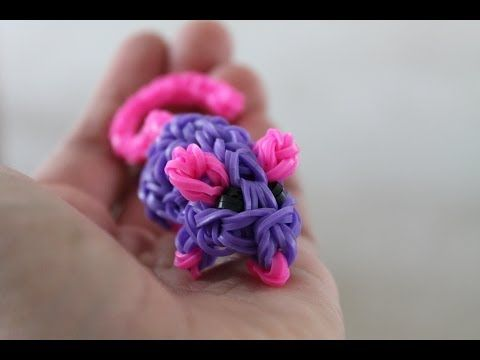 ▷ rainbow loom nederlands, 3d muis - youtube | gumičky | rainbow