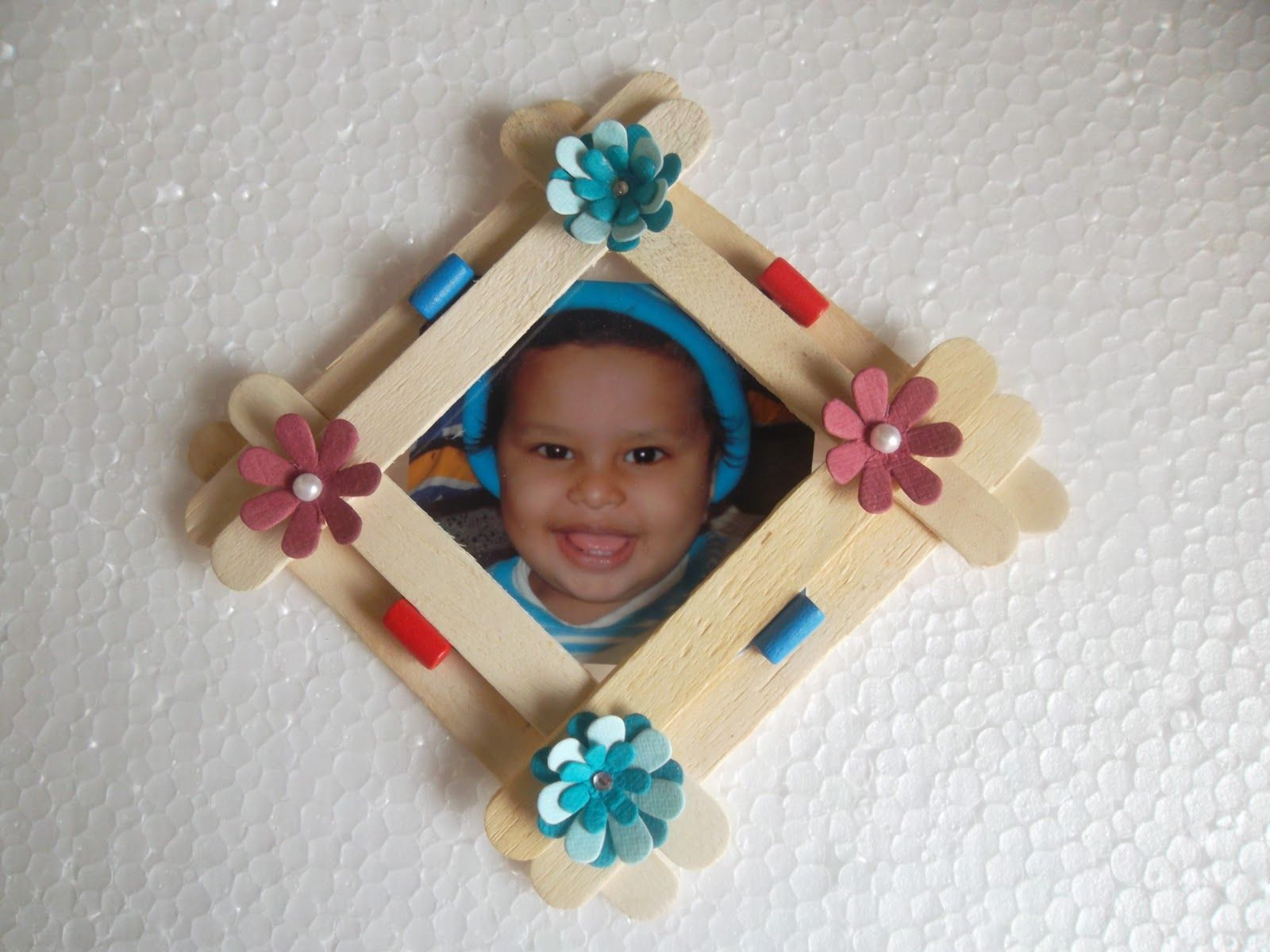 Popsicle stick frame google search ideas pinterest stick popsicle stick frame google search jeuxipadfo Gallery
