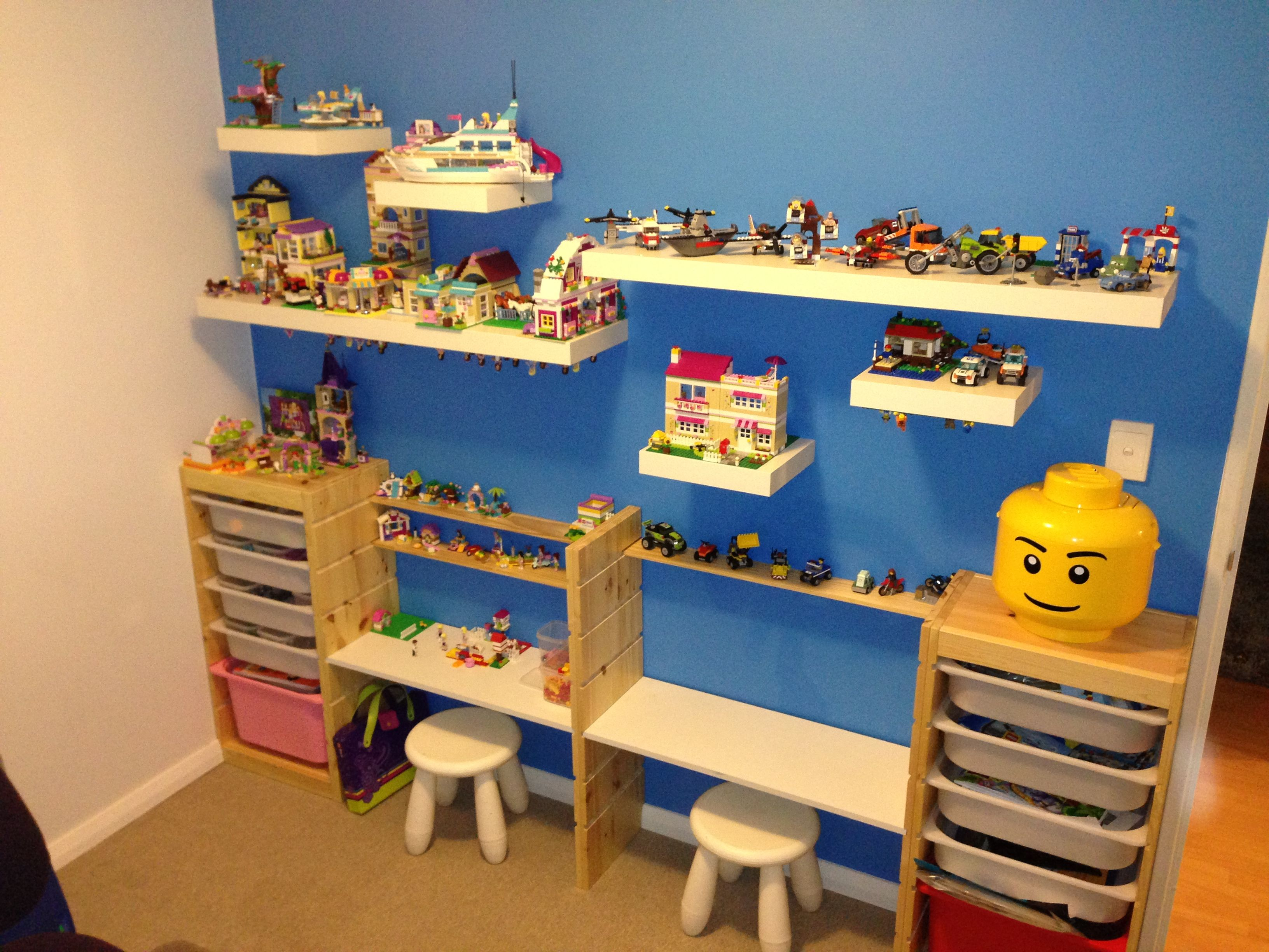 Kids Lego Stations, With Adjustable Height Desks All Products Ikea