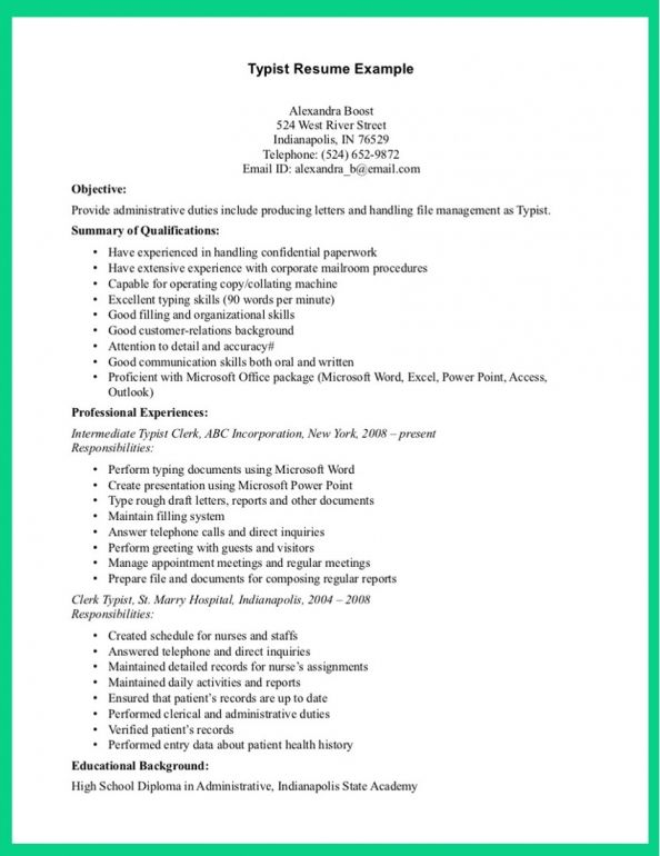Sample Resume Cashier resume template Pinterest Sample resume - proficient in microsoft office