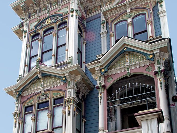 A Mapped Introduction To San Francisco S Varieties Of Victorians San Francisco Victorian Houses Victorian Homes Exterior Gothic House