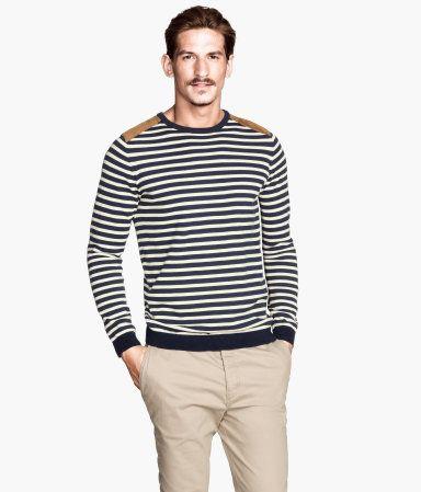 $35, Fine Knit Sweater | H&M US | Men's Fashion | Pinterest