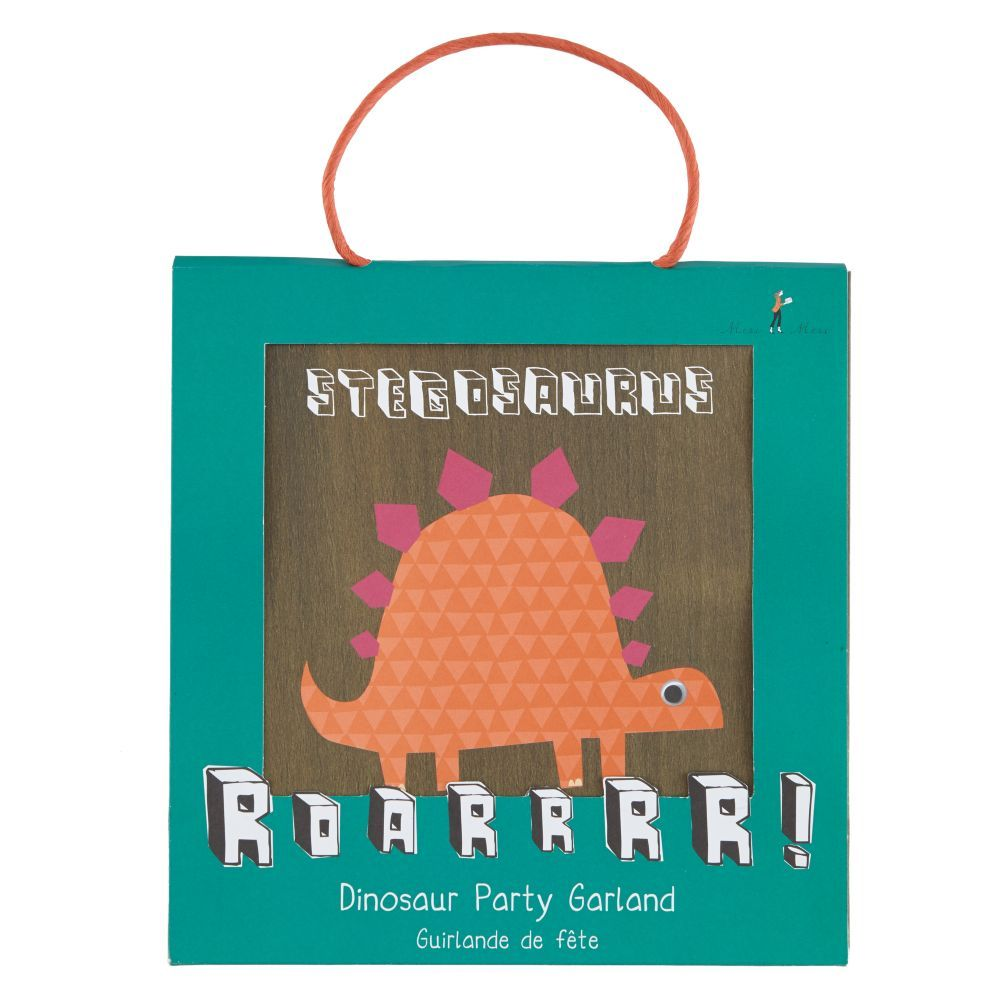 Roarrrr Party Garland Shops Party garland and Dinosaur party