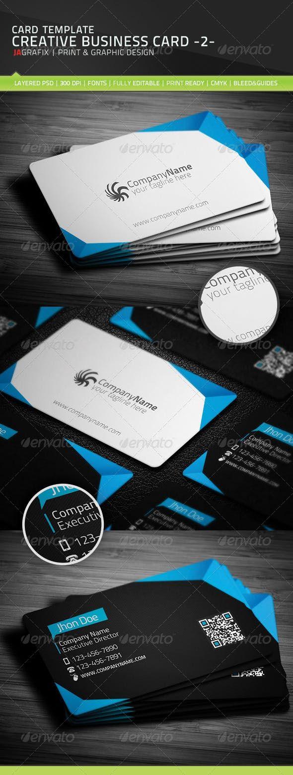 Creative Business Card -2- | Business cards creative ...